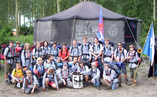 Sommerlager 2007 in den Niederlanden